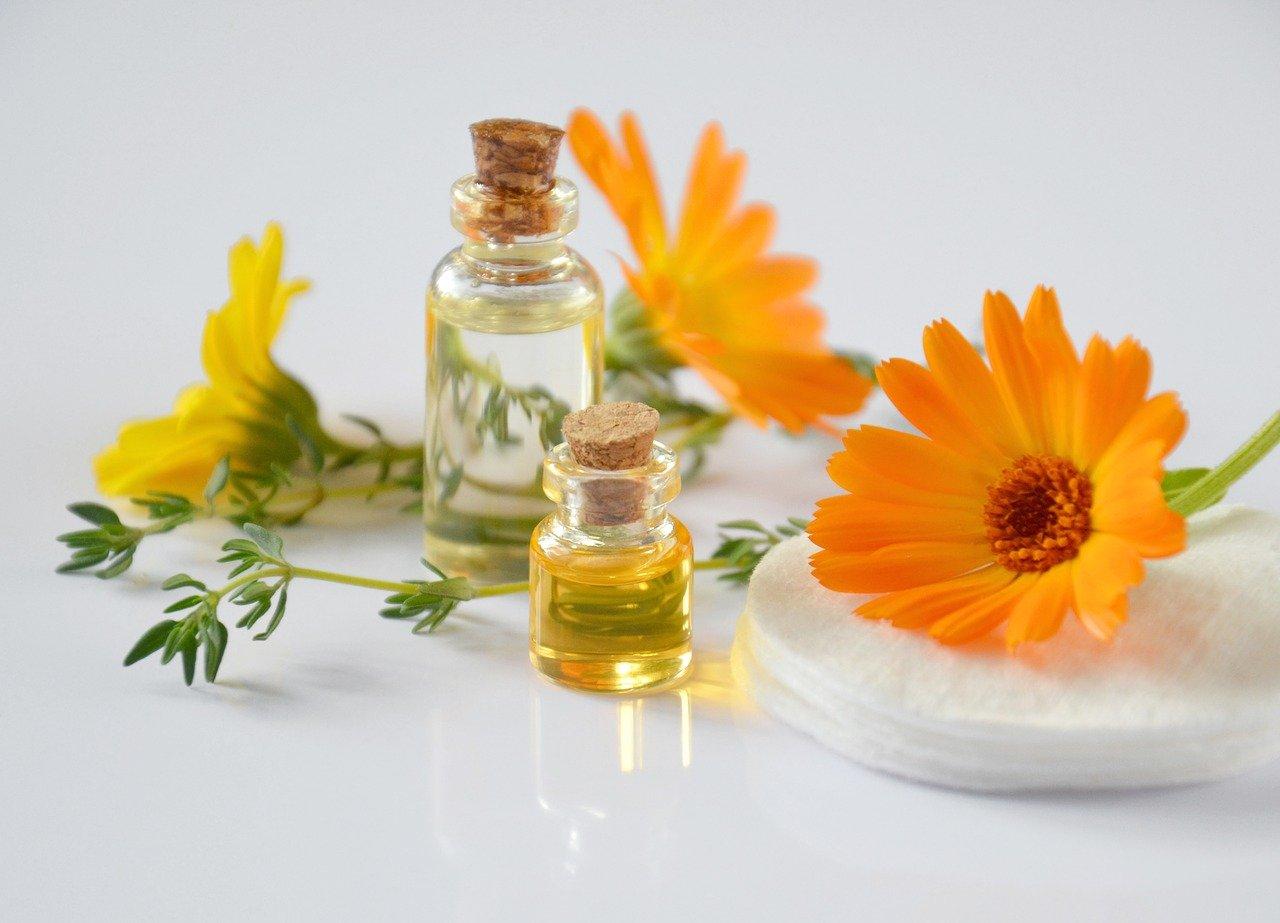 huile cosmétique